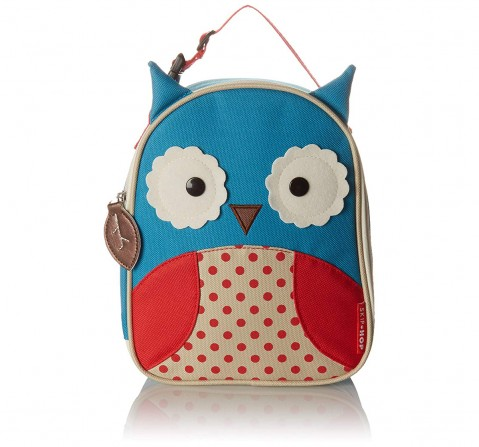 Skip Hop Zoo Lunchie Insulated Bag - Owl  New Born for Kids age 12M+