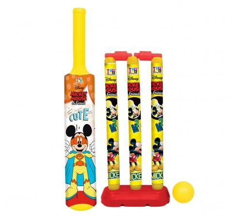 IToys Disney Cricket Set Assorted Medium, Unisex, 2Y+ (Multicolor)