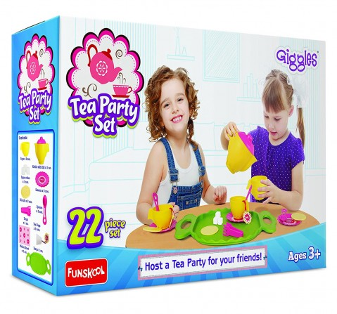 Giggles Tea Party Kitchen Sets & Appliances for Girls age 3Y+