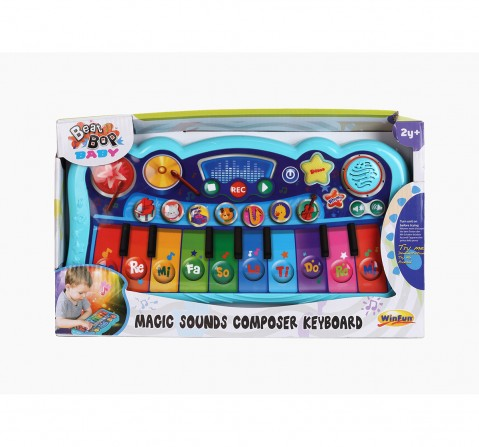 Winfun Magic Sounds Composer Keyboard Musical Toys for Kids age 24M+