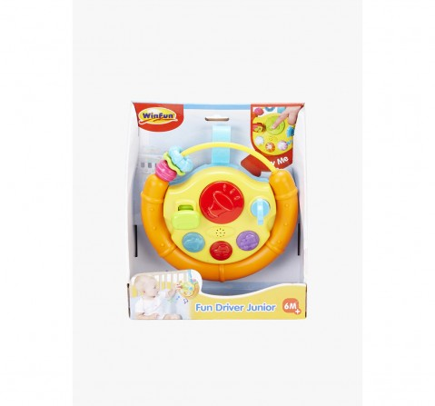 Winfun Fun Driver Junior Learning Toys for Kids age 6M+