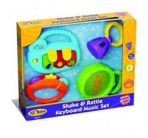 Winfun Rattle Music Set New Born for Kids age 3M+