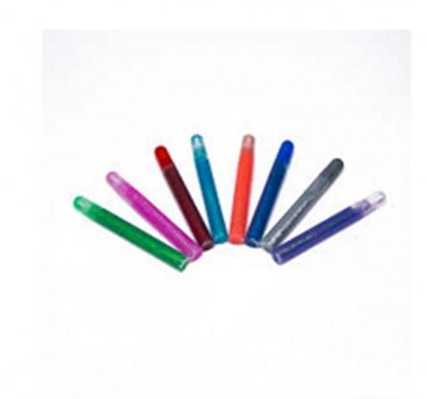 Hamleys Glitter Glue - 8Pcs School Stationary for Kids age 3Y+