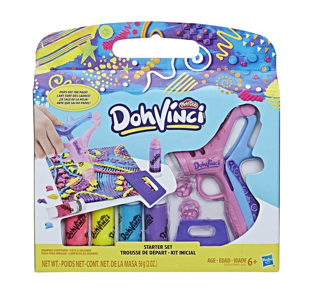 Play-Doh Dohvinci Starter Set Assorted Clay & Dough for Kids age 6Y+
