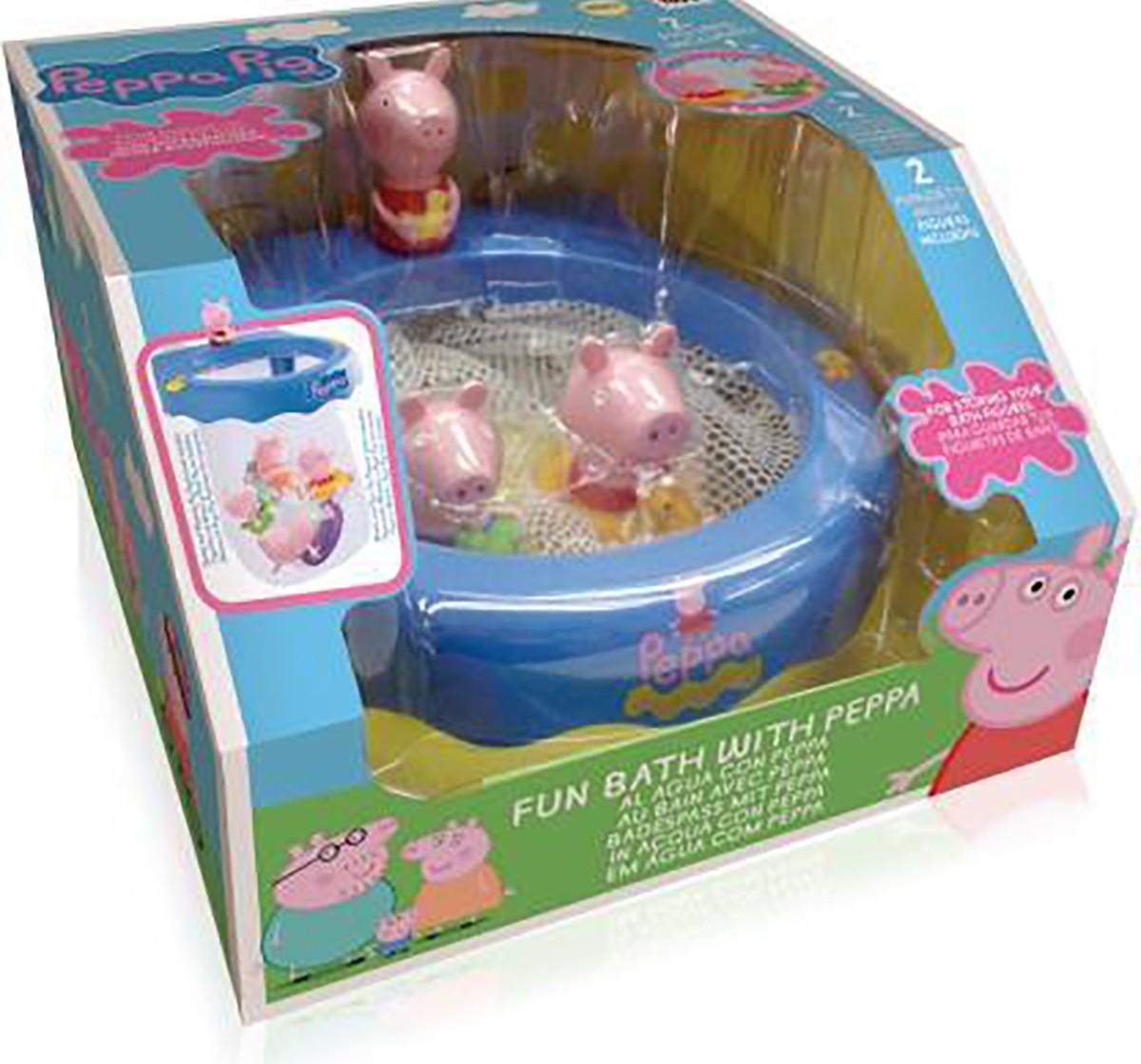 Peppa Pig Fun Bath with Peppa Bath Toys & Accessories for Kids age 2Y+