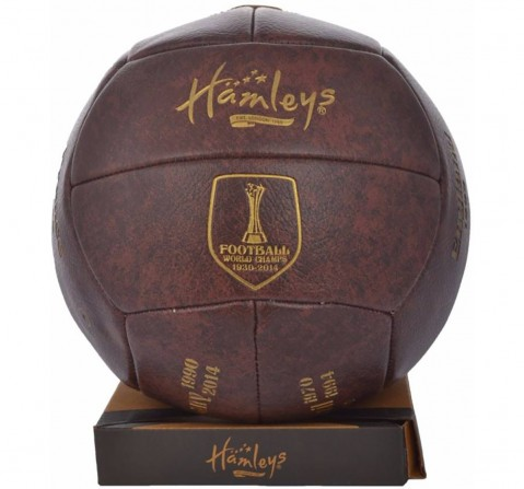 Hamleys Vintage World Cup Football for Kids age 5Y+ (Gold)