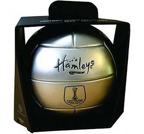 Hamleys Vintage World Cup Football for Kids age 5Y+ (Silver)