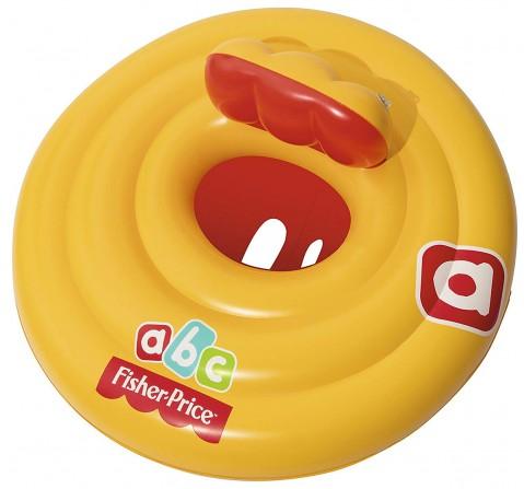 Bestway Fisher Price Baby Swim Float Swim Seat Vinyl - Multi Color Outdoor Leisure for Kids age 3Y+