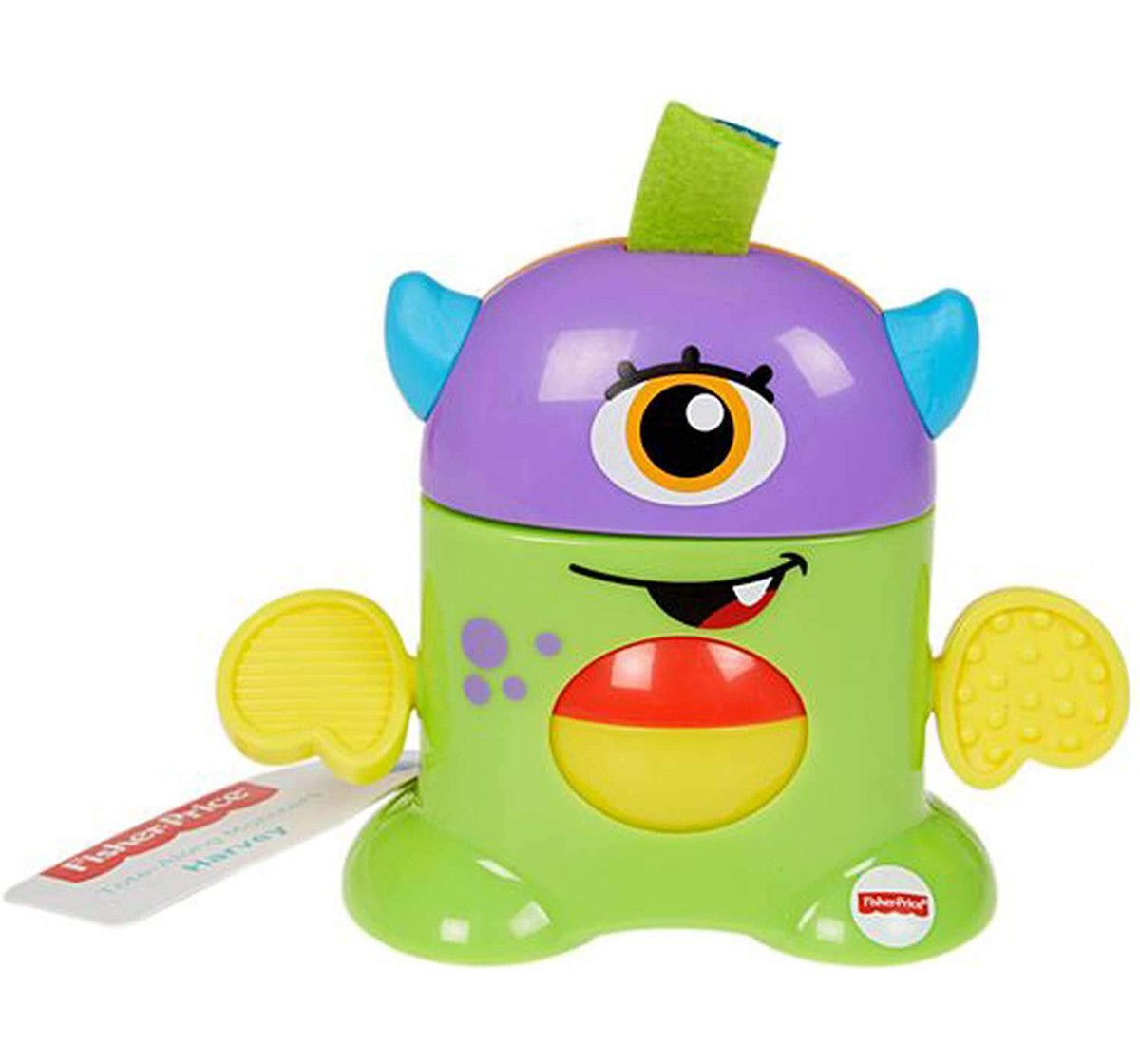 Fisher Price Tote - Along Monster Early Learner Toys for Kids age 6M+