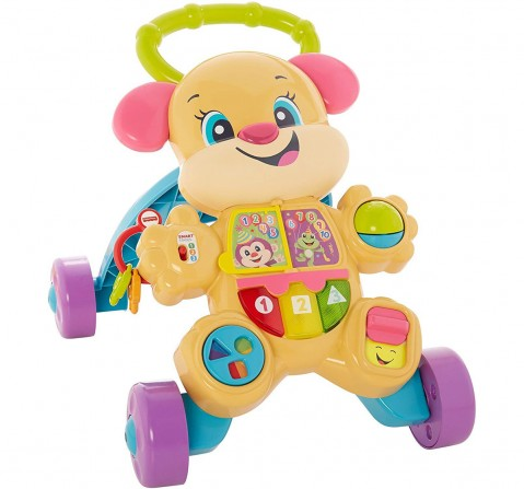 Fisher Price Laugh And Learn Smart Stages Learn With Sis Walker, Multi Color Baby Gear for Kids age 6M+