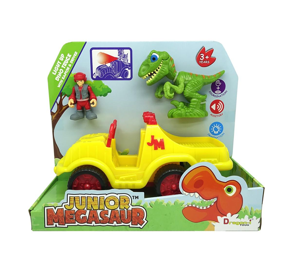 Dragon-I Junior Megasaur Dino Truck Activity Toy for Kids age 3Y+