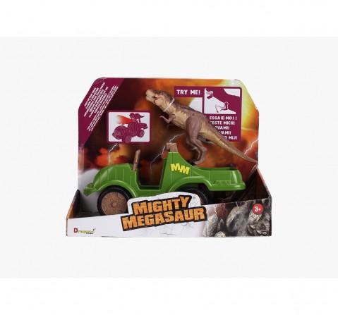 Dragon I Dino Truck Light Sound Trex Robotic Set for Kids age 3Y+ (Brown)