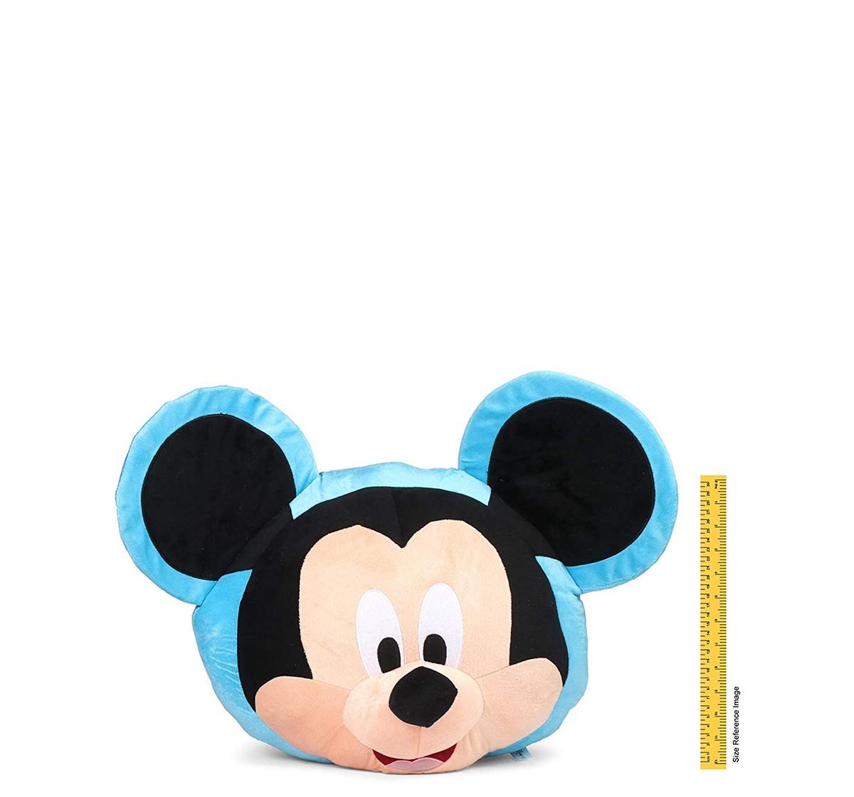 Disney Mickey Face Plush Pillow Multicolor 54 Cm for Kids age 0M+