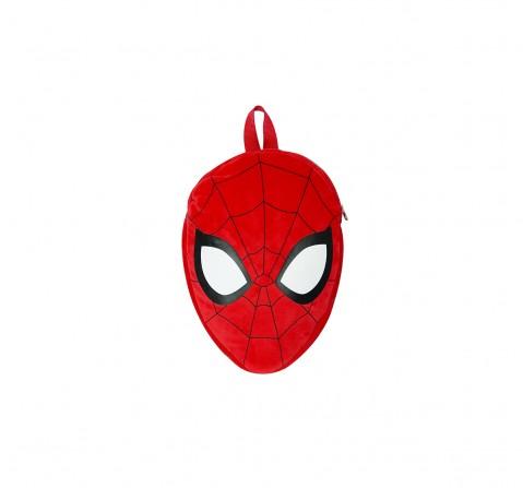 Disney Spiderman Face Shape Bag Plush Accessories for Kids age 12M+ - 30.5 Cm