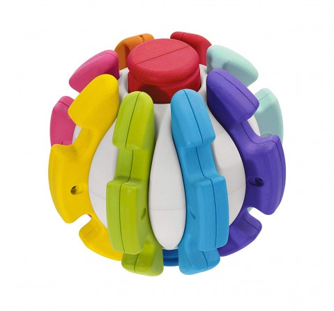Chicco 2 In 1 Transform A Ball Activity Toy for Kids age 12M+