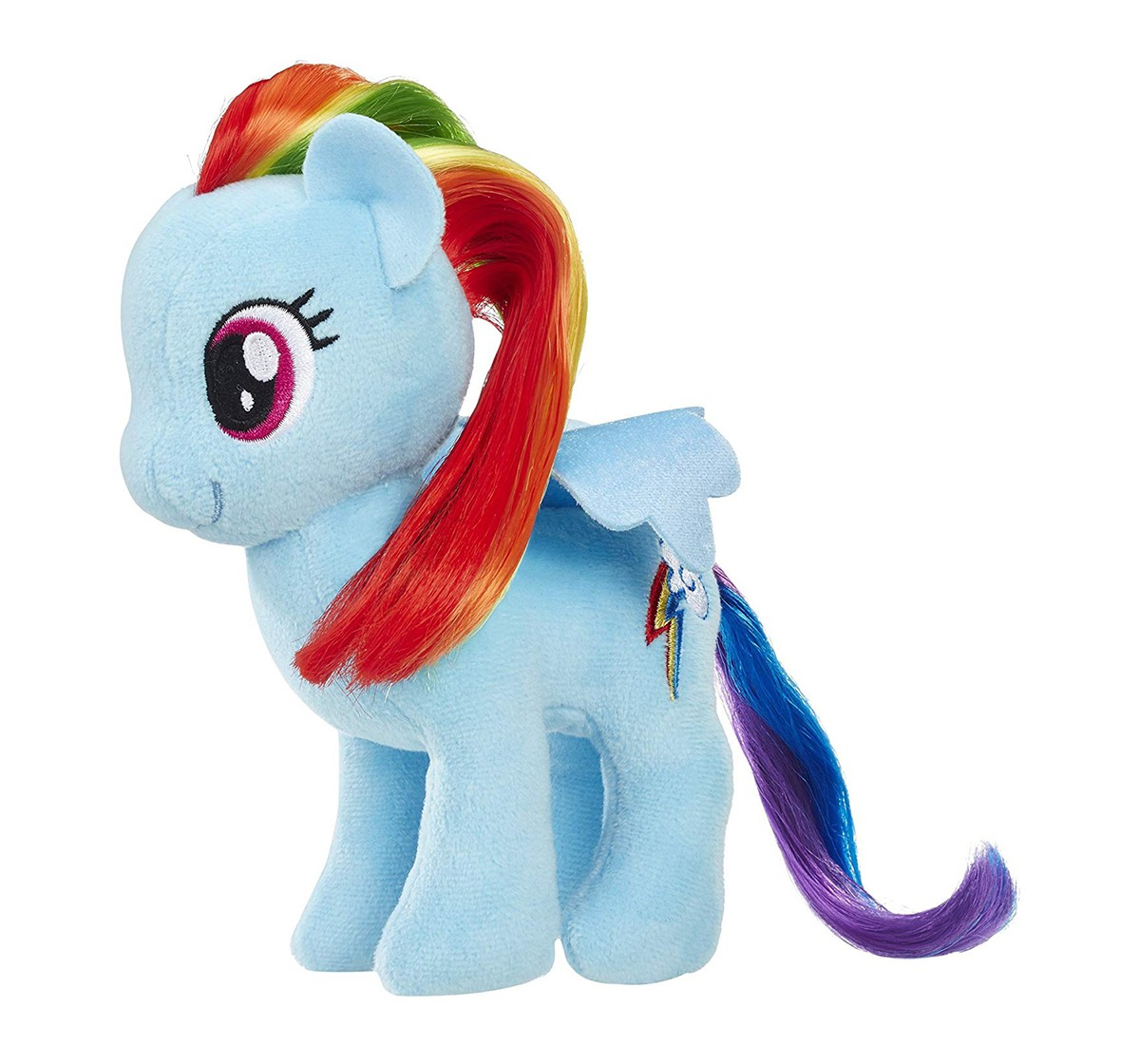 My Little Pony Rainbow Dash Fashion Dolls And Accessories Character Soft Toys for Kids age 0M+ - 17.8 Cm