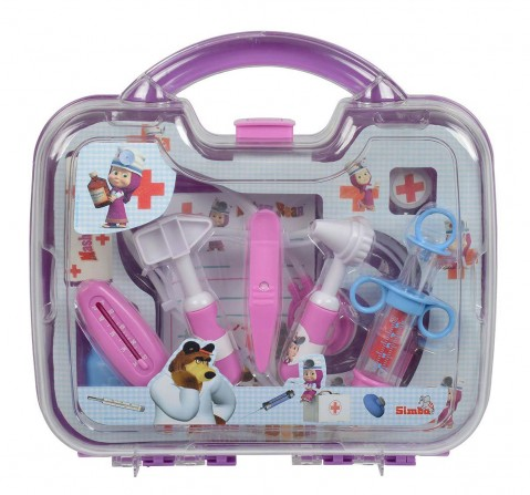 Masha And The Bear Masha Doctor Case- Lilac Roleplay sets for Kids age 5Y+