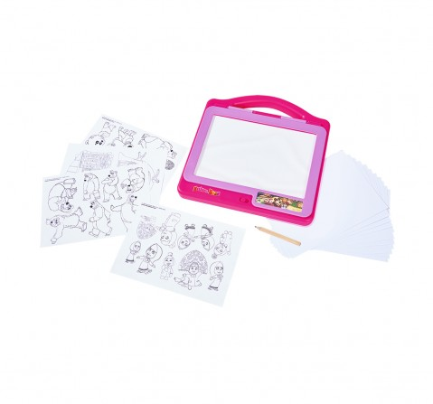 Masha And The Bear Simba - Masha Light Tablet Activity Table & Boards for Kids age 3Y+