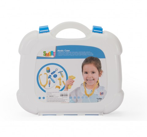 Smart Medic Case-White Roleplay sets for Girls age 3Y+ (White)