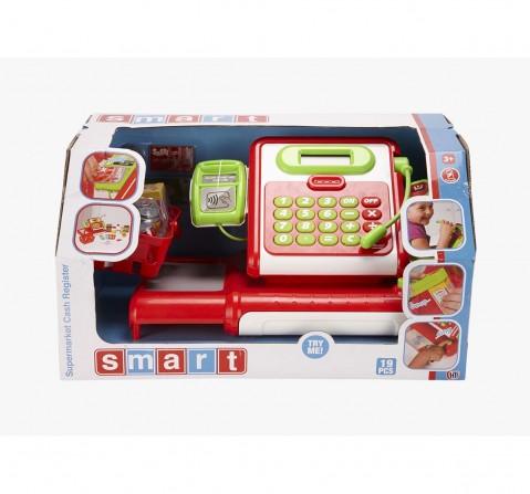 Smart Red Supermarket Cash Register Roleplay sets for Girls age 3Y+