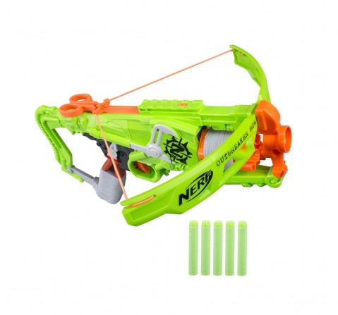 Nerf Zombie Strike Outbreaker Bow Blasters for Kids age 8Y+