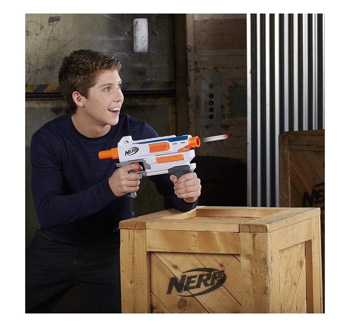 Nerf Modulus Mediator Blaster -- Fire 6 Darts In A Row -- Pump Action -- Slam Fire --age 6Y+