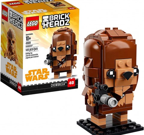 Lego Brickheadz 41609 Chewbacca Blocks for Kids age 10Y+