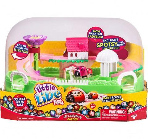 Little Live Pets Ladybug House Playset Animal Figures for Kids age 3Y+