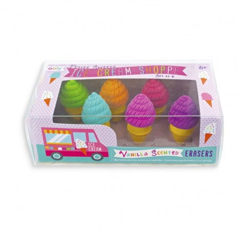 Ooly Scented Erasers, 3Y+
