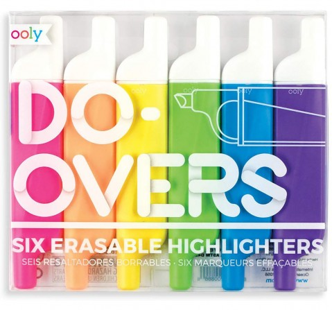 Ooly Do-Overs Highlighters School Stationery for Kids age 3Y+