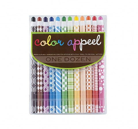 Ooly Color Appeel Crayons School Stationery for Kids age 3Y+