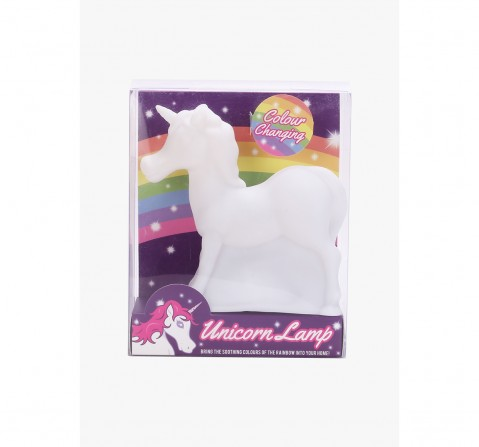 Red 5 Unicorn Lamp Impulse Toys for Kids age 3Y+ (White)