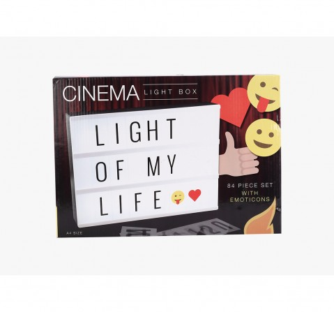 Red5 Cinema Light Box -Electronics Accessories for Kids age 3Y+ (White)