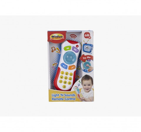 Winfun Light  N Sounds Remote Control Learning Toys for Kids age 3Y+
