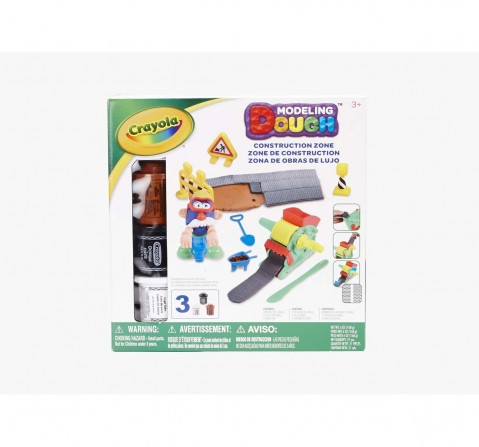 Crayola Large Playset Road Maker Set Clay & Dough for Kids age 3Y+