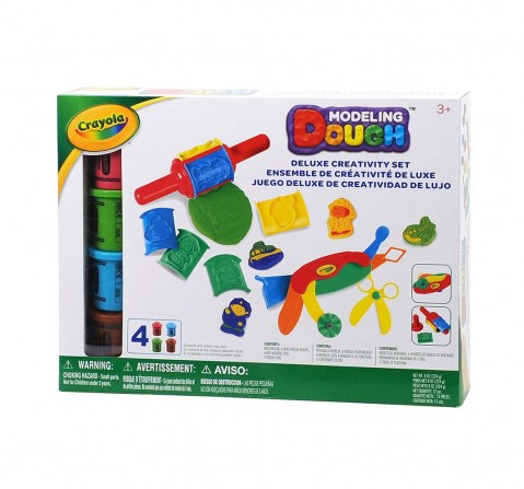 Crayola Modeling Dough Deluxe Creativity Set - 12 Pieces Clay & Dough for Kids age 3Y+