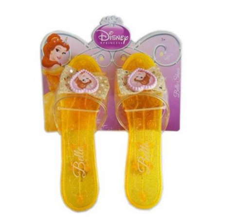 Disney Princess Rapunzel Belle Shoes - Yellow Dolls & Accessories for Girls age 3Y+