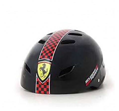Ferrari Sports Helmet Size Medium Black Ball Sports & Accessories for Kids age 5Y+