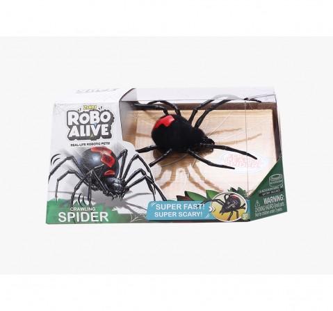 Zuru Robo Alive Boys Creepy Spider Robotics for Kids age 3Y+ (Black)