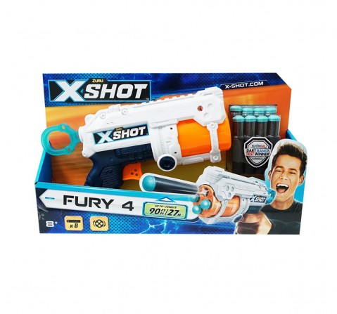 X-Shot Excel Fury Dart Blasters for Kids age 8Y+