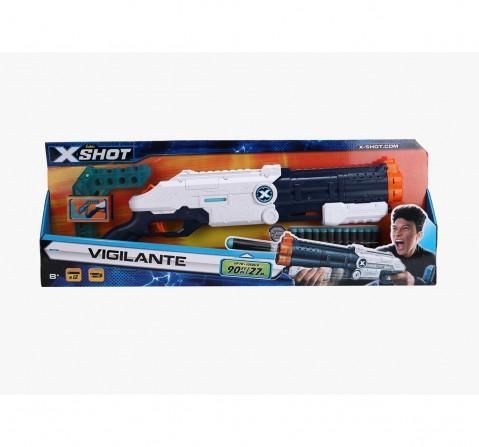 X-Shot Plastic Excel Vigilante Blasters for Kids age 8Y+ (White)