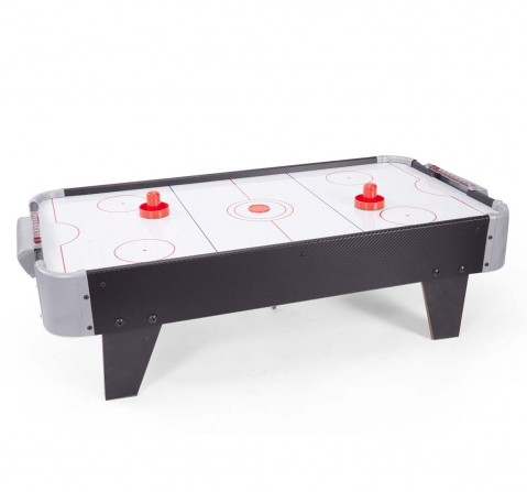 Comdaq White Air Hockey Game Indoor Sports for Kids age 3Y+