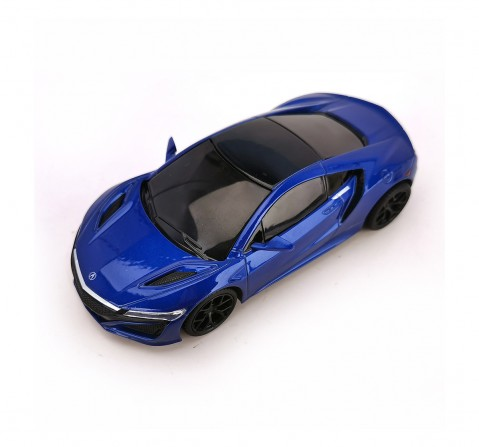 MSZ 1:31 Honda Acura NSX Touch And Go Car for Kids age 3Y+ (Blue)