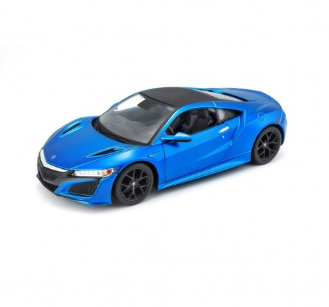 MSZ 1:31 Honda Acura NSX Car with Light and Sound for Kids age 3Y+ (Blue)