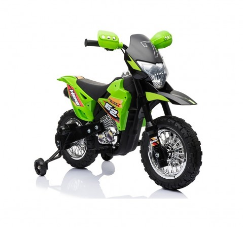 Bettyma Ride-on Sports Bike Green Battery Operated Rideons for Kids age 3Y+ (Green)