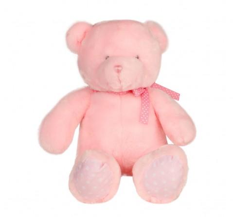 Cuddles Teddy Bear 32 Cms Plush Toy for New Born Kids age 0M+ (Pink)