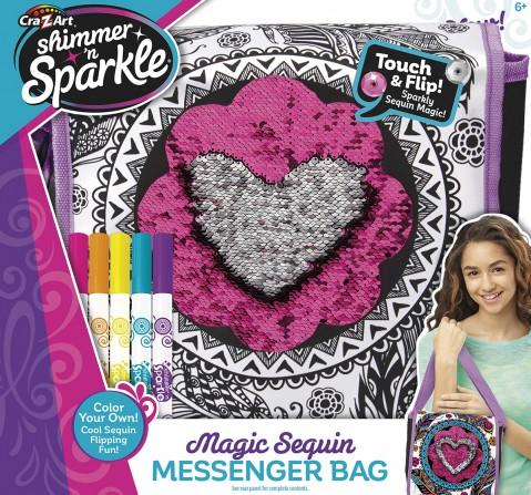 Cra-Z-Art Shimmer N' Sparkle™ Sequins Messenger Bag DIY  & Craft Kits for Girls age 6Y+