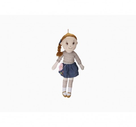Candy Doll Blue Dress with Plaits-Big & Puppets for Kids age 3Y+ size 89 Cm