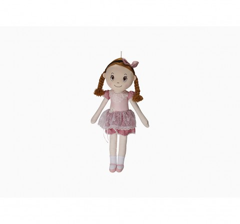 Fuzzbuzz Candy Dolls Dress Doll With Plaits Dolls & Puppets for Kids age 2Y+ - 85 Cm (Pink)