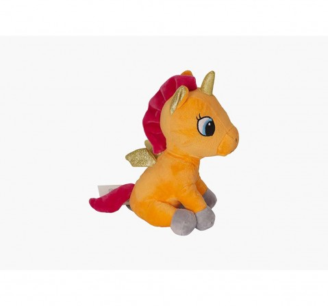 Sophie Pink Plush Unicorn 32 Cms Quirky Soft Toys for Girls age 0M+ - 9 Cm